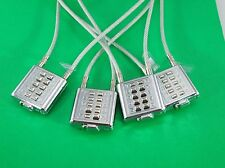 """Universal Gun Lock Cable Lock Combination Lock - ( Lot of 4) 22"""" Steel Cable"""