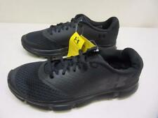 Men's Under Armour Speed Swift II Black SMS Sample Athletic Shoe- Size 9