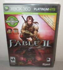 FABLE II w/ Extra Content SEALED NEW XBOX 360 Lionhead Action RPG ARPG GOTY DLC