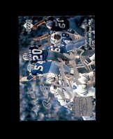 MEL RENFRO CHUCK HOWLEY Hand Signed 1997 Upper Deck Dallas Cowboys Autograph