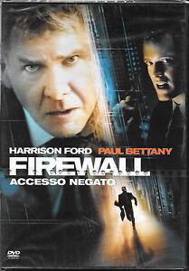 FIREWALL ACCESSO NEGATO con Harrison Ford - DVD NUOVO