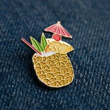 Tiki Pineapple Cocktail Pin