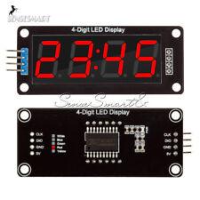 0.56'' Inch TM1637 4Bit Digital LED 7 Segment Clock Tube Display For Arduino Red