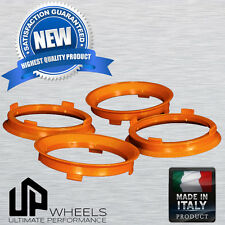 PLASTIC HUB CENTRIC HUBCENTRIC RING RINGS FOR AUDI VW OD 66.6 66.56 to ID 57.1MM