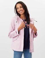 Joules Womens Coast Waterproof Jacket - Pink