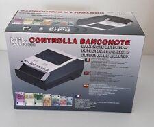KLIK 600 CONTROLLA BANCONOTE CON CERTIFICAZIONE RoHS COMPLIANT