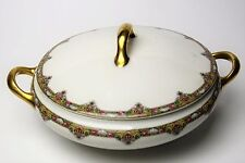Limoges Elite Works Bawo & Dotter Bwd30 Beautiful Vegetable Covered Dish Look!