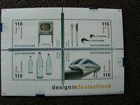 BRD Briefmarkenblock DESIGN IN DEUTSCHLAND,postfrisch,1999,TOP Zustand