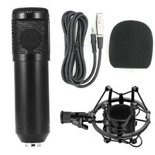 Dynamic Condenser Microphone Sound Studio Audio Recording Mic with Shock Mount