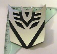 New Car Stickers Decoration Transformer Displacement Logo 3D Emblem Badge