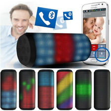 Pisnet Party Bluetooth 4.0 Portable Led Speaker Built in Bass , Waterproof , AUX
