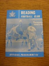 02/05/1966 Reading v International Club [Friendly] . Thanks for viewing this ite