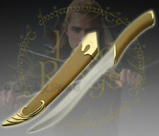 LOTR Lord of the Rings Fighting Knife of Legolas Elven Sword Dagger w. Scabbard