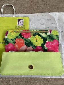 Ted Baker Green Clutch Bag