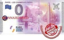 Billet Touristique 0 Euro 2015 - Les Champs Elysées