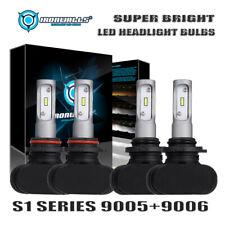 9005 9006 LED Headlight Kit Bulbs 6500K for Honda Accord 1990-2012 Civic 2004-15