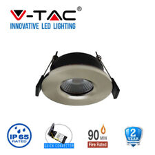 LED FIRERATED INTERGRATED DOWNLIGHT 7 WATTS IP65 CEILING SPOT LIGHTS DIMMABLE