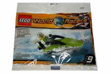Lego WORLD RACERS #30031 Powerboat with minifigure