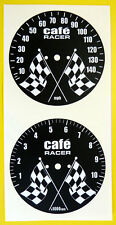 CAFE RACER CB750 Gauge face set stickers decals
