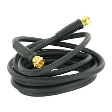 Eagle 6ft RG59 Coax Cable Gold F Connector Coaxial Cable TV Audio / Video 75 Ohm