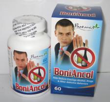 01 Box x 60 Capsules BoniAncol - Reduce Cravings Alcoho,  Drug, Other Addictive
