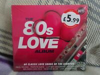 The 80s Love Album CD 3 discs (2017) - Various Artists - new - Free uk Post