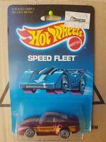 HOTWHEELS 1989 - PORSCHE 959 SPEED FLEET VHTF NEAR MINT BLUE CARD GOOD
