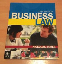 Business Law 2nd Edition by Nikolas James