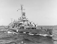 WW2 WWII Photo US Navy Destroyer USS Harrison DD-573 USN World War Two / 7230