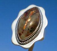 Astrophyllit aus Russland , Ring Gr. 16,75 Silber 925 !