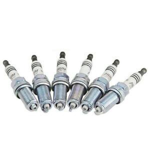 6Pack LFR6AIX11 Spark Plugs NGK Iridium IX Resistor fits for Lexus Mercedes-Benz