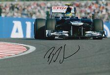 Bruno Senna Hand Signed 12x8 Photo Williams F1 11.
