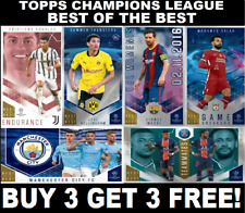 Topps CHAMPIONS LEAGUE Best of the Best CARDS (2021) BUY 3 GET 3 FREE FreePost!