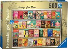 Jigsaw Puzzles 500 Pieces Vintage Cook Books Ravensburger Sealed Brand New