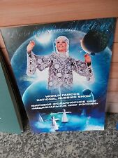 World Famous National Russian Show, ein Programmheft auf Englisch und Russisch