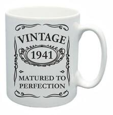 77th Novelty Birthday Gift Present Tea Mug 1941 Matured To Perfection Coffee Cup