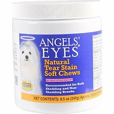 ANGELS' Eye Care Eyes 120 Count Natural Chicken Formula Soft Chews For Dogs Free