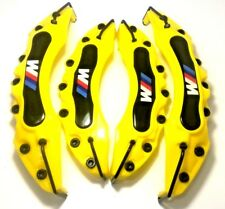 Yellow BMW Brake Caliper Cover M Technik Disc Racing Front Rear Power E90 E60 GT