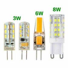 LED Bulb 3W G4 12V DC 6W 8W 220V halogen SMD COB AC220V G9 corn light lamp bead