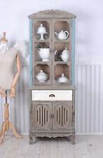 Ancien Vitrine buffet armoire shabby chic VAISSELIER / küchenvitrine bois NEUF