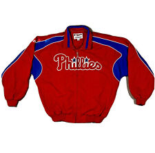 Philadelphia Phillies Mens XL Fleece Lined Pullover Jacket MLB Majestic