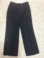 Le Suit NEW Flat Front Lined Side Zip Lined Pants Womens Size 12
