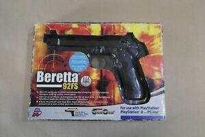 Thrustmaster Beretta 92FS P.Beretta Pistol for PS2 PSONE