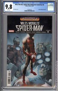 Miles Morales Spider-Man #0 Halloween Comicfest ~ CGC 9.8