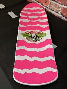 Powell Peralta Hot Pink Ripper Skateboard Deck Bones Old School OG Vintage GRIP