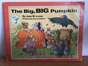 Joan M. Lexau Book The Big Big Pumpkin VTG  Little Sprout First Readers RARE HTF