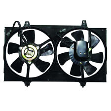 TYC Dual Radiator AC Condenser Cooling Fan Motor Assy For 98-01 Altima Auto-Tran