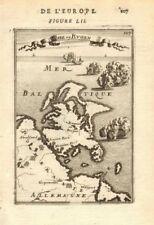 RÜGEN. 'Isle de Rugen' & Pomeranian coast, Germany. Pommern. MALLET 1683 map