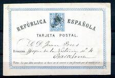 1874.ESPAÑA.ENTERO POSTAL EDIFIL 3 (o).USADO.CAT.13,50€