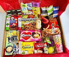 Korean & Japanese Sweets Snacks Chapaghetti Ramen Gift Box Present Nongshim